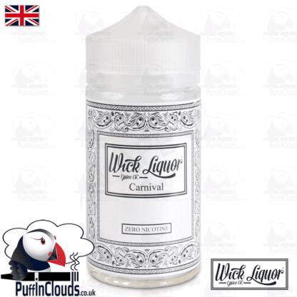 Wick Liquor Carnival Short Fill (150ml) | Puffin Clouds UK