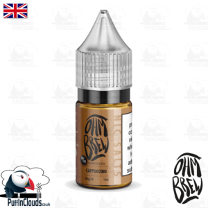 Ohm Brew Cappuccino Nic Salt E-Liquid 50/50 | Puffin Clouds UK
