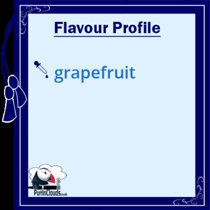 Ohm Brew Groovy Grapefruit Nic Salt E-Liquid 50/50   Puffin Clouds UK