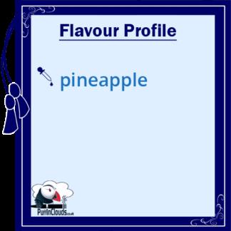 Ohm Brew Punchin Pineapple Nic Salt E-Liquid 50/50 | Puffin Clouds UK