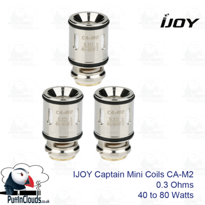 IJOY Captain Mini Coils CA-M2 (3 Pack) and CA-M2 | Puffin Clouds UK