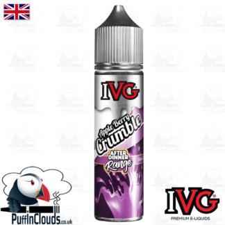 IVG Apple Berry Crumble Short Fill E-Liquid 50ml | Puffin Clouds UK