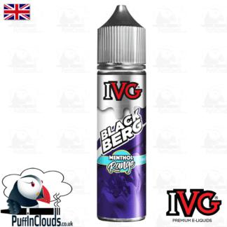 IVG Blackberg Short Fill E-Liquid 50ml | Puffin Clouds UK