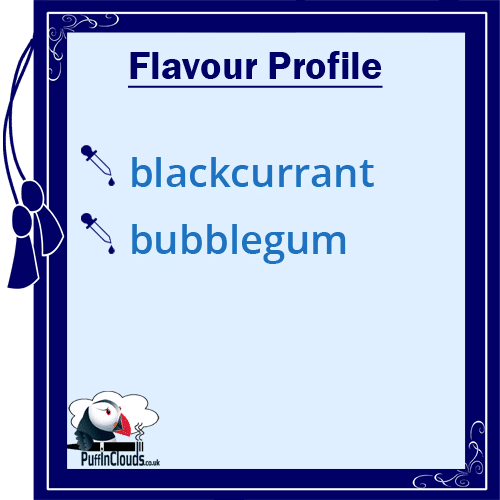 IVG Blackcurrant Millions Short Fill E-Liquid 50ml Flavour Profile | Puffin Clouds UK