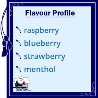 IVG Blueberg Burst Short Fill E-Liquid 50ml Flavour Profile | Puffin Clouds UK