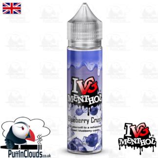 IVG Blueberry Crush Short Fill E-Liquid 50ml | Puffin Clouds UK