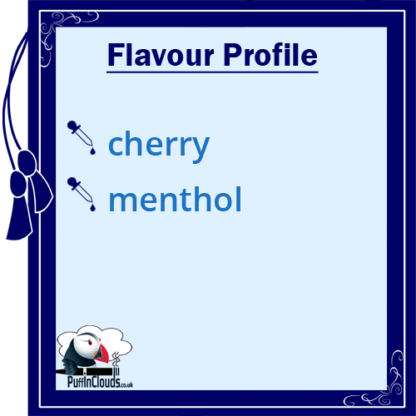 IVG Cherry Wave Short Fill E-Liquid 50ml Flavour Profile   Puffin Clouds UK