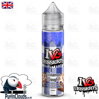 IVG Cinnamon Dough Short Fill E-Liquid 50ml | Puffin Clouds UK