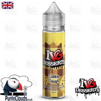 IVG Cookie Dough Short Fill E-Liquid 50ml | Puffin Clouds UK