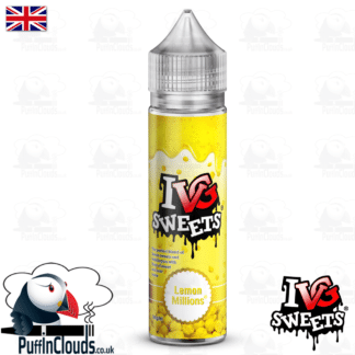 IVG Lemon Millions Short Fill E-Liquid 50ml | Puffin Clouds UK