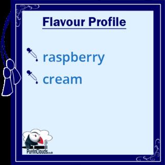 IVG Raspberry Stix Short Fill E-Liquid 50ml Flavour Profile | Puffin Clouds UK