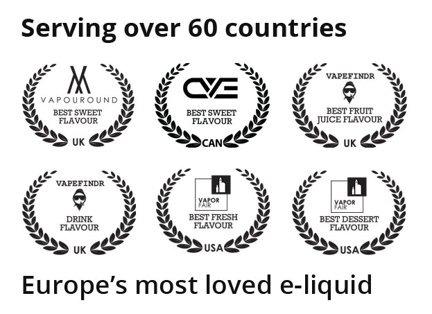 IVG E-Liquid Awards - Europe's Most Loved E-Liquid | Puffin Clouds UK