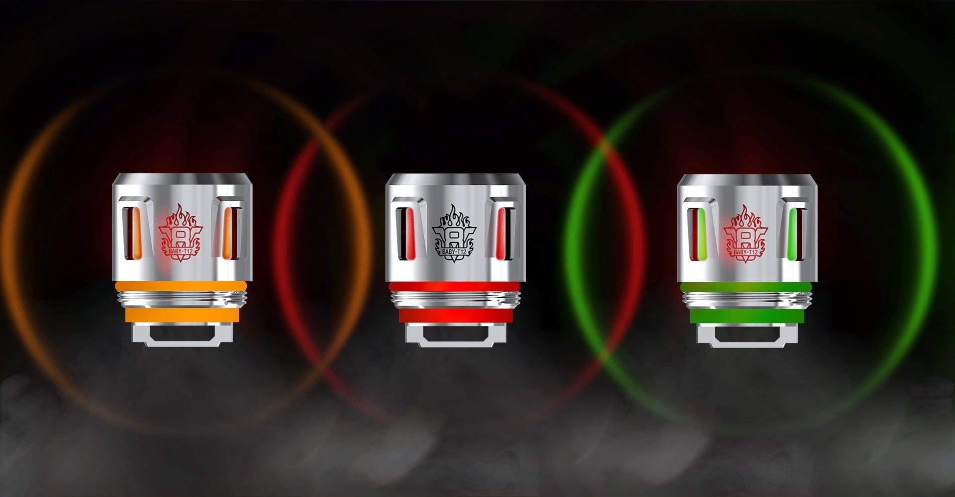 SMOK V8 Baby T12 LED Light Coils (5 Pack) - Available from Mighty Vape