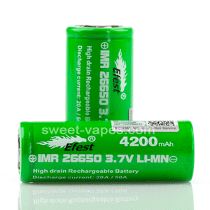 26650 Vaping Batteries