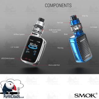 SMOK X-PRIV Baby 80W Starter Kit (UK Edition)   Puffin Clouds UK
