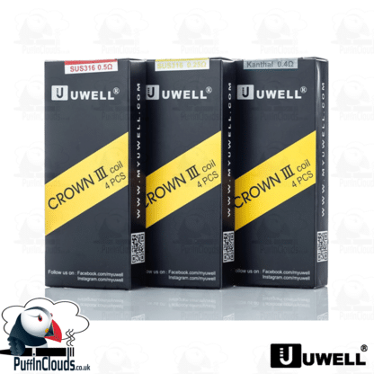 Uwell Crown 3 Coils (4 Pack)   Puffin Clouds UK
