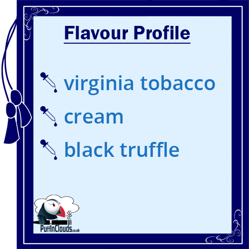 IVG Gold Tobacco Short Fill E-Liquid 50ml - Flavour Profile | Puffin Clouds UK