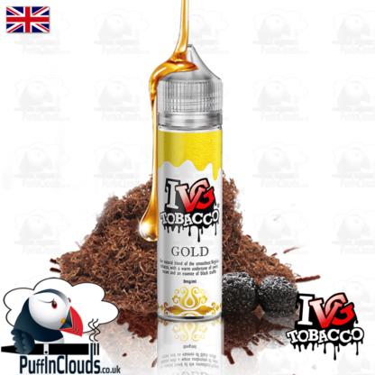 IVG Gold Tobacco Short Fill E-Liquid 50ml | Puffin Clouds UK