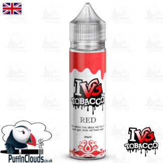 IVG Red Tobacco Short Fill E-Liquid 50ml | Puffin Clouds UK