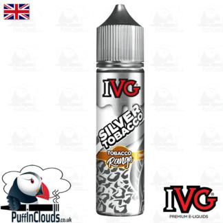 IVG Silver Tobacco Short Fill E-Liquid 50ml | Puffin Clouds UK