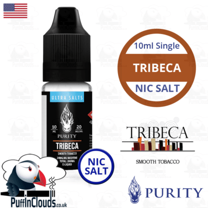 Purity Tribeca Nic Salt E-Liquid | Puffin Clouds UK