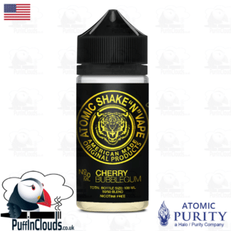 Atomic Cherry Bubblegum Shake n Vape E-Liquid (50ml 0mg) | Puffin Clouds UK