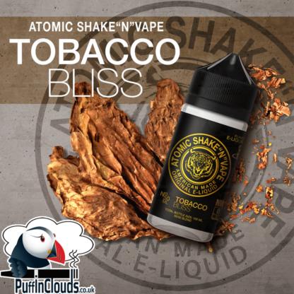 Atomic Tobacco Bliss Shake n Vape E-Liquid (50ml 0mg) | Puffin Clouds UK