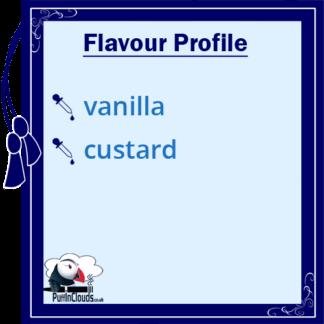 Atomic Vanilla Custard Shake n Vape E-Liquid (50ml 0mg) | Puffin Clouds UK