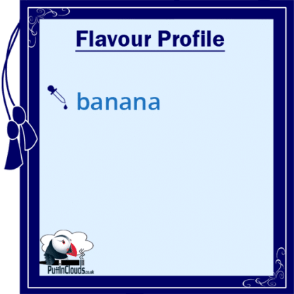 P.U.R.E Banana Shake n Vape E-Liquid (50ml 0mg) | Puffin Clouds UK
