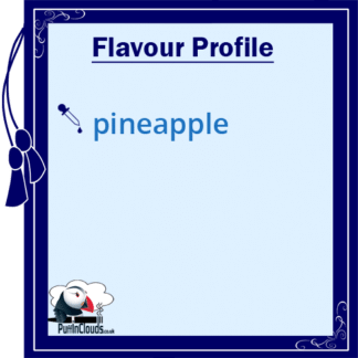 P.U.R.E Pineapple Shake n Vape E-Liquid (50ml 0mg) | Puffin Clouds UK