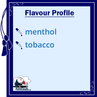 Royal Seven Cool & Fresh Menthol Tobacco Shake n Vape E-Liquid (50ml 0mg) | Puffin Clouds UK