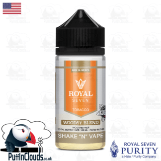 Royal Seven Woodsy Blend Tobacco Shake n Vape E-Liquid (50ml 0mg) | Puffin Clouds UK