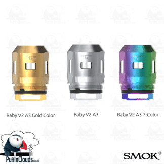 SMOK TFV-Mini V2 A3 Coils (3 Pack) | Puffin Clouds UK