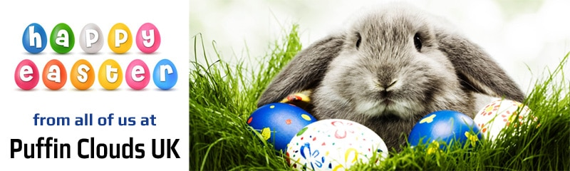 Happy Easter 2021 | Puffin Clouds UK