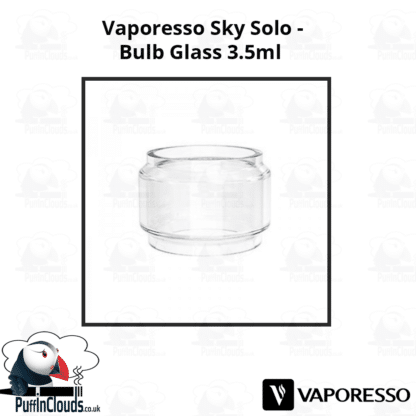 Vaporesso Sky Solo Bulb Glass (3.5ml) | Puffin Clouds UK