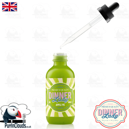 Dinner Lady Apple Pie E-Liquid (50ml 0mg) | Puffin Clouds UK