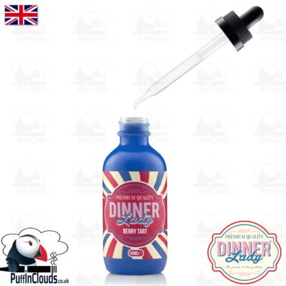 Dinner Lady Berry Tart E-Liquid (50ml 0mg) | Puffin Clouds UK