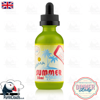 Dinner Lady Guava Sunset E-Liquid (50ml 0mg) | Puffin Clouds UK