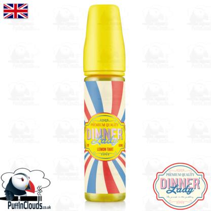 Dinner Lady Lemon Tart E-Liquid (50ml 0mg)   Puffin Clouds UK