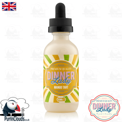 Dinner Lady Mango Tart E-Liquid (50ml 0mg) | Puffin Clouds UK