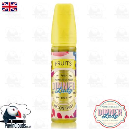 Dinner Lady Melon Twist E-Liquid (50ml 0mg)   Puffin Clouds UK