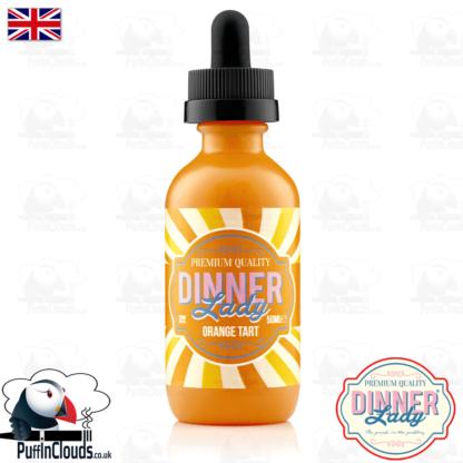 Dinner Lady Orange Tart E-Liquid (50ml 0mg) | Puffin Clouds UK