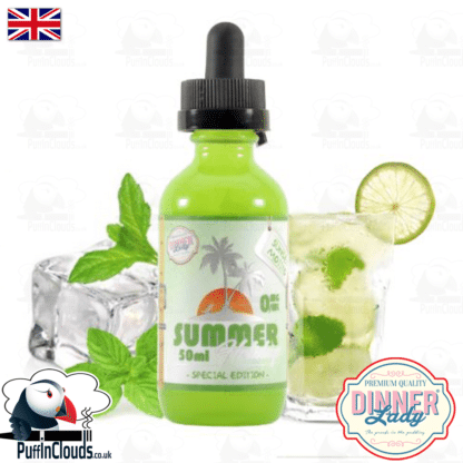 Dinner Lady Sunset Mojito E-Liquid (50ml 0mg) | Puffin Clouds UK