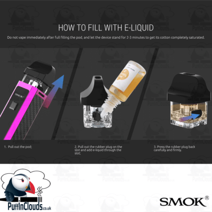 SMOK RPM40 Pod Kit | Puffin Clouds UK