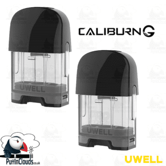 Uwell Caliburn G Replacement Pods (2 Pack) - Puffin Clouds UK