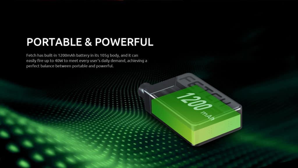 Smok Fetch Mini Pod Kit - 1200mAh Battery | Puffin Clouds UK