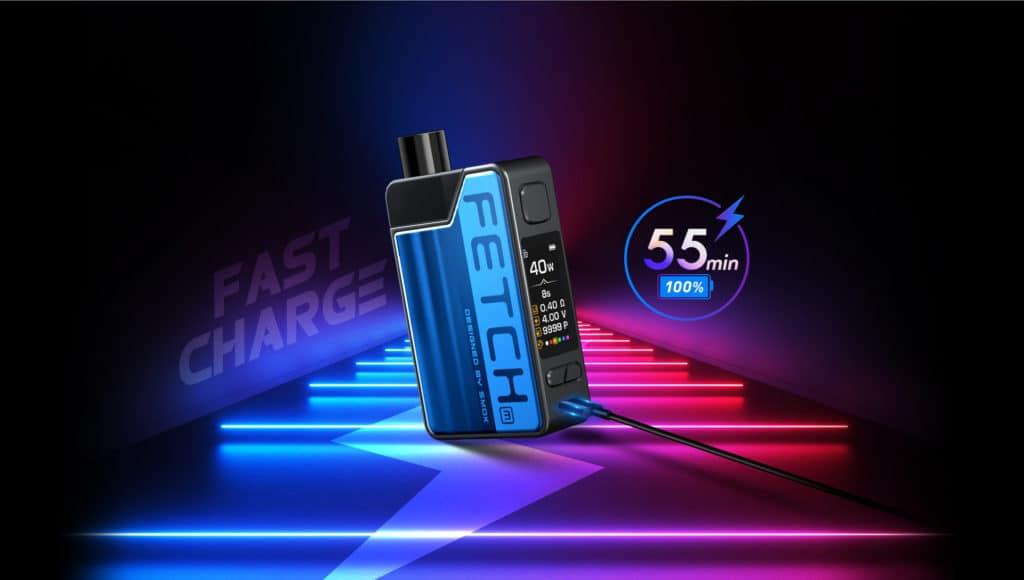Smok Fetch Mini Pod Kit - Fast Recharge | Puffin Clouds UK