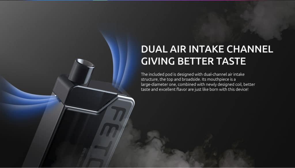 Smok Fetch Mini Pod Kit - Dual Air Intake | Puffin Clouds UK