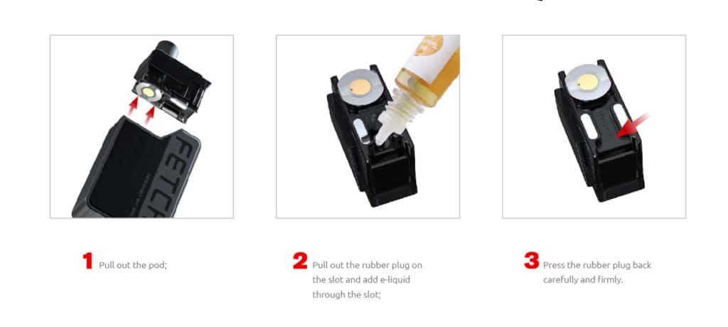 Smok Fetch Mini Pod Kit - Refilling the Pod | Puffin Clouds UK