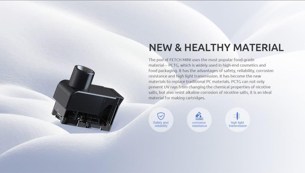 Smok Fetch Mini Pod Kit - Pod Material | Puffin Clouds UK